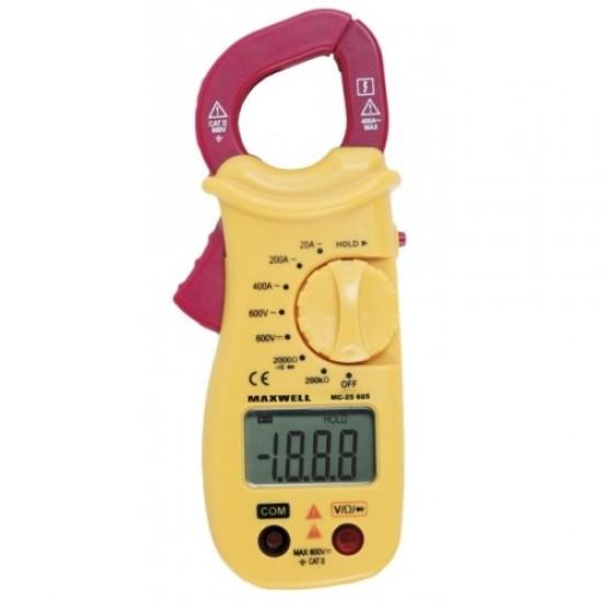 Digitális lakatfogó ellenállás méréssel (GE-MC 25605)