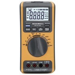 Digitális multiméter 5az1-ben USBs PC kapcsolattal (GE-MX 25328)